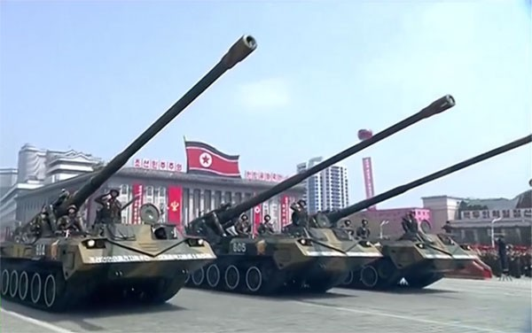 Cận cảnh cuộc duyệt binh hoành tráng nhất lịch sử CHDCND Triều Tiên - ảnh 10