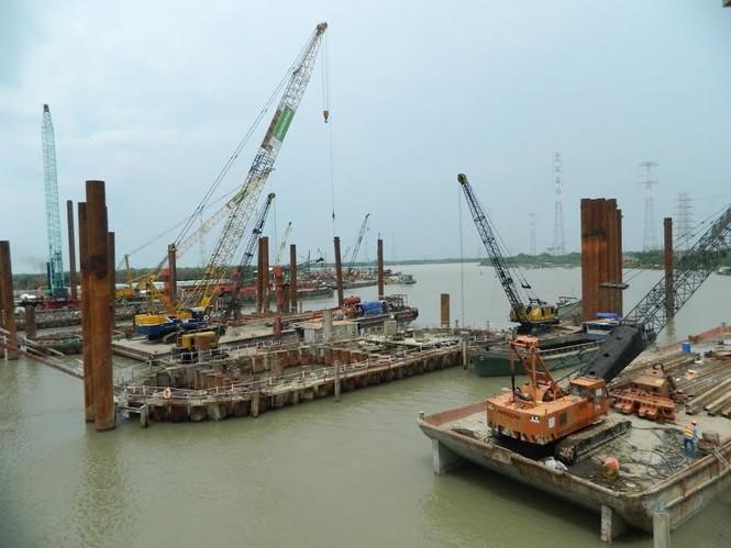 Trên công trường dự án chống ngập 10.000 tỷ đồng ở Sài Gòn - ảnh 3