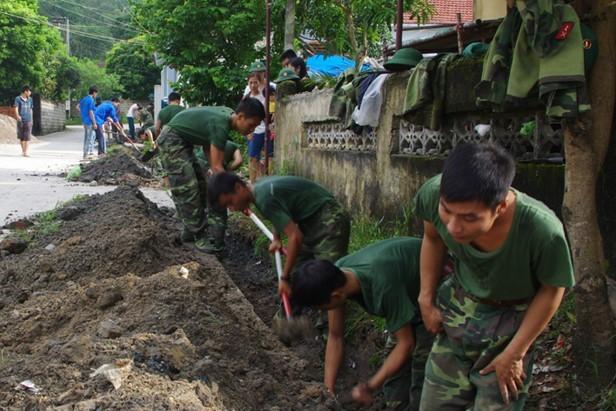 Chung tay xây dựng nông thôn mới - ảnh 3
