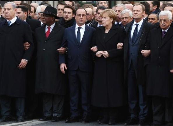 Ông Obama bị chỉ trích vì vắng mặt trong tuần hành tại Paris - ảnh 1