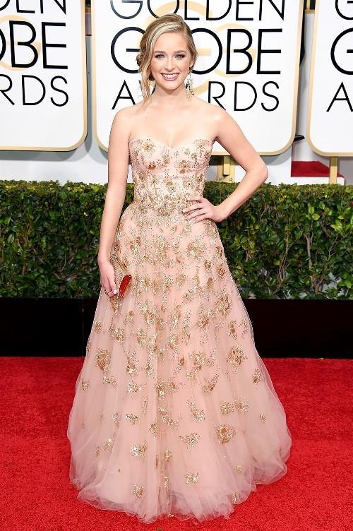 Trang phục đẹp mắt trên thảm đỏ Quả Cầu Vàng 2015 - ảnh 9