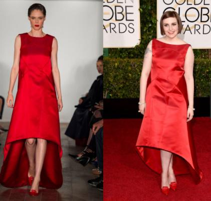 """Thời trang sàn catwalk """"lên ngôi' thảm đỏ Quả Cầu Vàng 2015 - ảnh 9"""