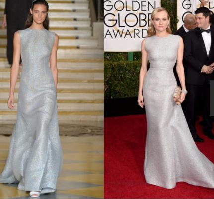 """Thời trang sàn catwalk """"lên ngôi' thảm đỏ Quả Cầu Vàng 2015 - ảnh 3"""