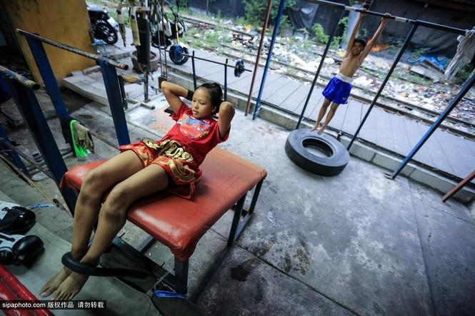 """Trẻ em """"bán"""" tuổi thơ tập luyện Muay Thái mong thoát nghèo - ảnh 7"""
