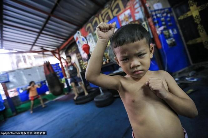 """Trẻ em """"bán"""" tuổi thơ tập luyện Muay Thái mong thoát nghèo - ảnh 3"""