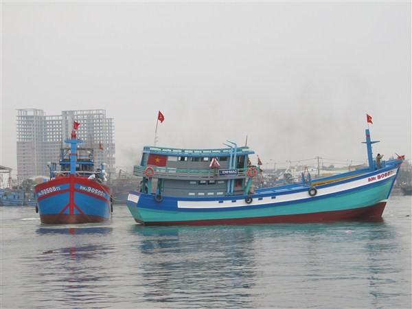 Hạ thủy con tàu mang ý chí ra Hoàng Sa - ảnh 4