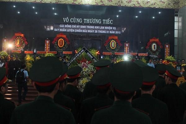 Chủ tịch nước chia buồn với gia đình 4 quân nhân hy sinh - ảnh 1