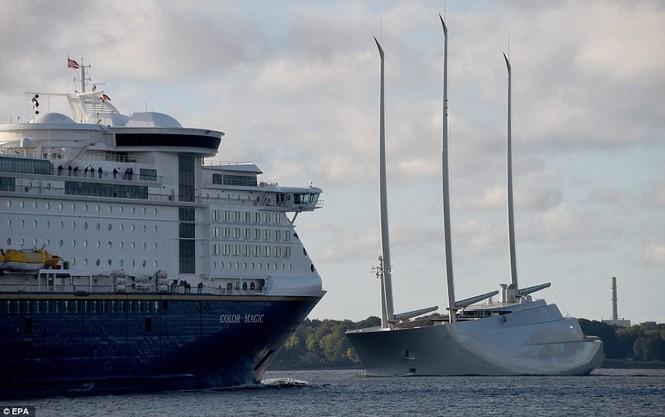 siêu du thuyền lớn nhất thế giới - ảnh 2