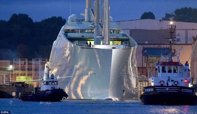 siêu du thuyền lớn nhất thế giới - ảnh 3