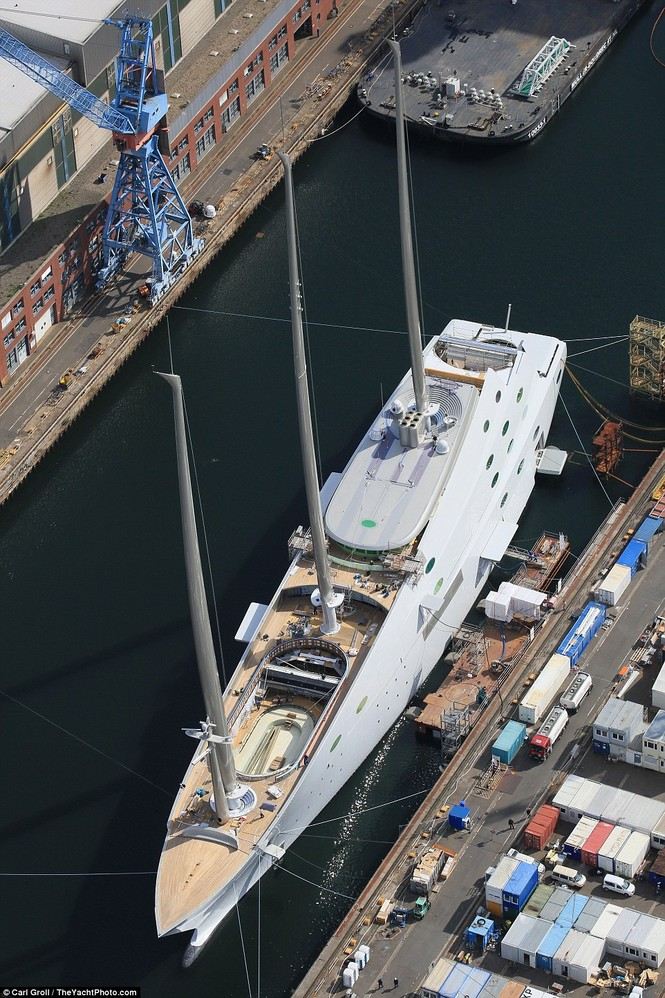 siêu du thuyền lớn nhất thế giới - ảnh 5
