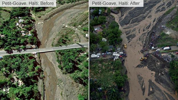 Bão kinh hoàng tàn phá Haiti, 261 người thiệt mạng - ảnh 5