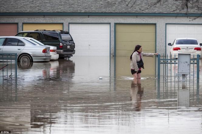Mỹ hứng chịu lũ lụt khủng khiếp nhất 100 năm qua - ảnh 1
