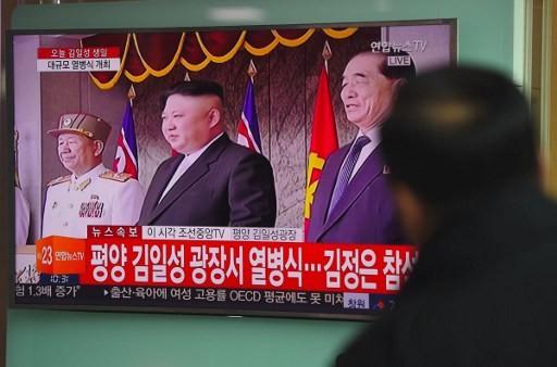 Cận cảnh cuộc duyệt binh hoành tráng nhất lịch sử CHDCND Triều Tiên - ảnh 12