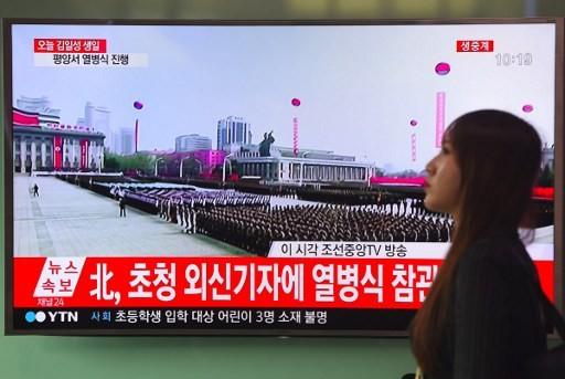 Cận cảnh cuộc duyệt binh hoành tráng nhất lịch sử CHDCND Triều Tiên - ảnh 14