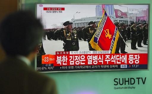 Cận cảnh cuộc duyệt binh hoành tráng nhất lịch sử CHDCND Triều Tiên - ảnh 16