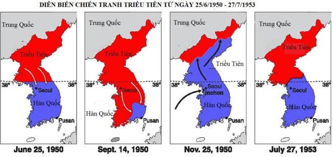 Toàn cảnh cuộc chiến tranh chia cắt Bán đảo Triều Tiên - ảnh 2