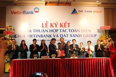 Đất xanh và Vietinbank ký kết hợp tác toàn diện  - ảnh 1