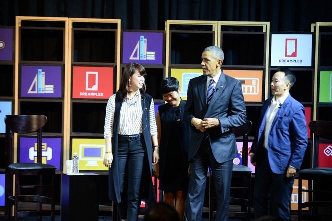 Ba gương mặt trẻ đối thoại với Obama là ai? - ảnh 1