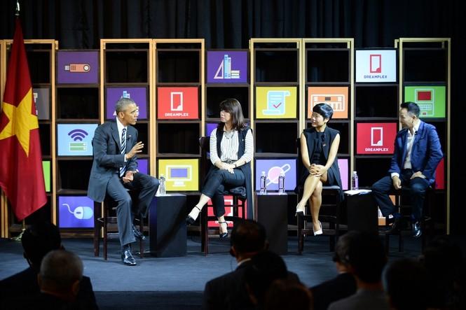 Ba gương mặt trẻ đối thoại với Obama là ai? - ảnh 2