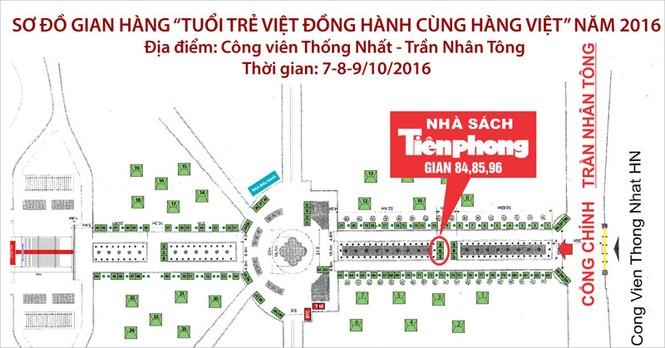 """Nhà sách Tiền Phong tham gia sự kiện """"Tuổi trẻ Việt Đồng hành cùng hàng Việt"""" - ảnh 1"""