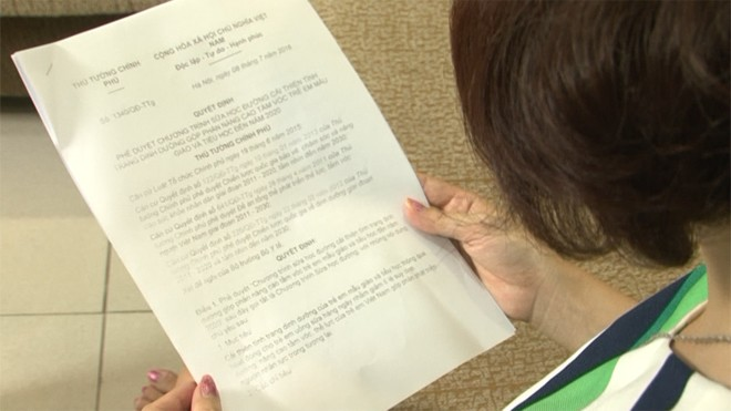 Phụ huynh, học sinh hưởng ứng chương trình Sữa học đường Quốc gia - ảnh 1