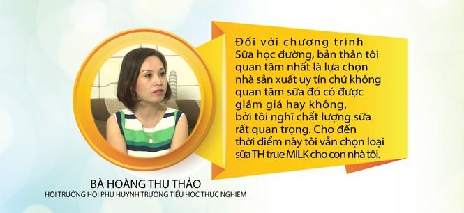 Phụ huynh, học sinh hưởng ứng chương trình Sữa học đường Quốc gia - ảnh 2