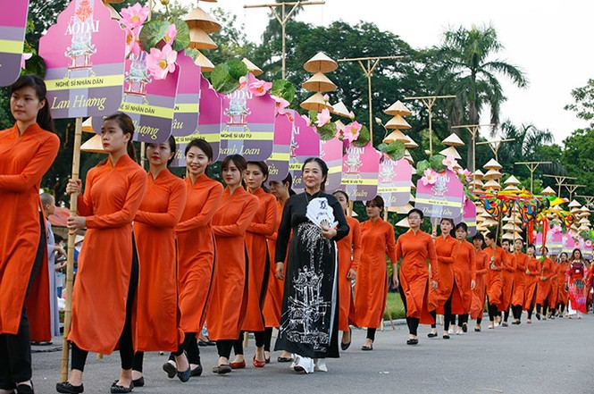 Bế mạc Festival áo dài Hà Nội   - ảnh 1