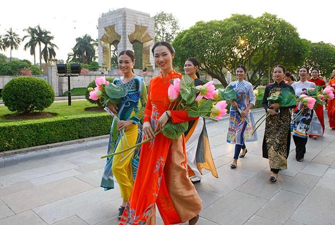 Bế mạc Festival áo dài Hà Nội   - ảnh 7