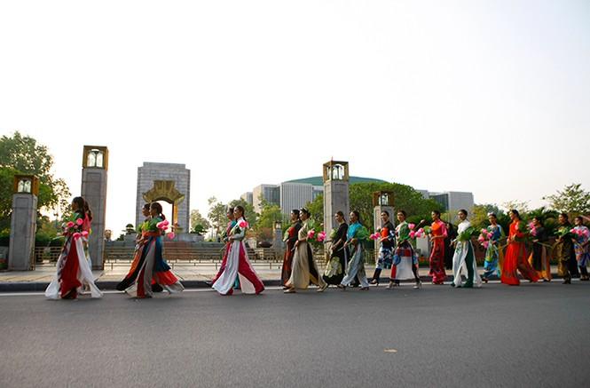 Bế mạc Festival áo dài Hà Nội   - ảnh 8