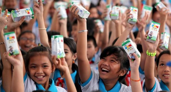 Quỹ sữa Vươn cao Việt Nam tiếp tục tặng sữa cho trẻ em tại Cần Thơ - ảnh 6