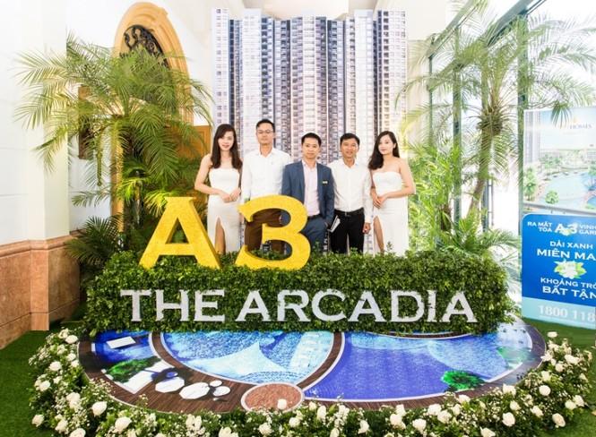 Hơn 50% căn hộ được đặt mua tại lễ ra mắt A3 The Arcadia  - ảnh 1