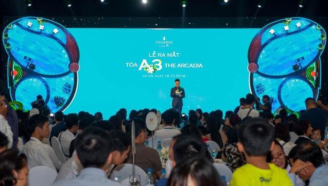 Hơn 50% căn hộ được đặt mua tại lễ ra mắt A3 The Arcadia  - ảnh 2