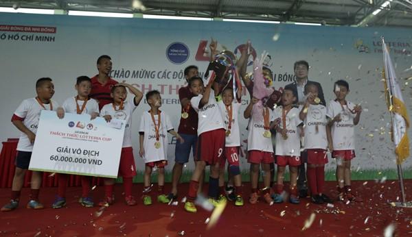 'Thách thức Lotteria Cup 2016' tôn vinh tinh thần bóng đá đẹp  - ảnh 2