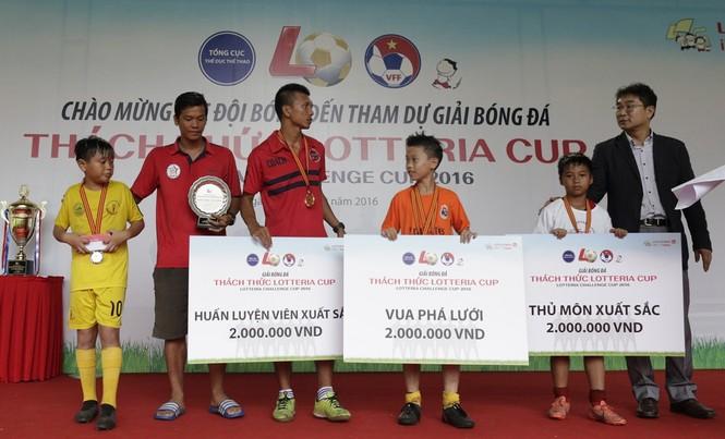 'Thách thức Lotteria Cup 2016' tôn vinh tinh thần bóng đá đẹp  - ảnh 3