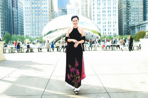 Hoa hậu Nguyễn Trần Hải Dương khoe sắc cùng NSƯT Chiều Xuân - ảnh 4