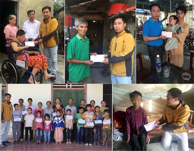Bí thư Đoàn ĐH Duy Tân vận động hàng trăm triệu đồng giúp dân vùng lũ - ảnh 1