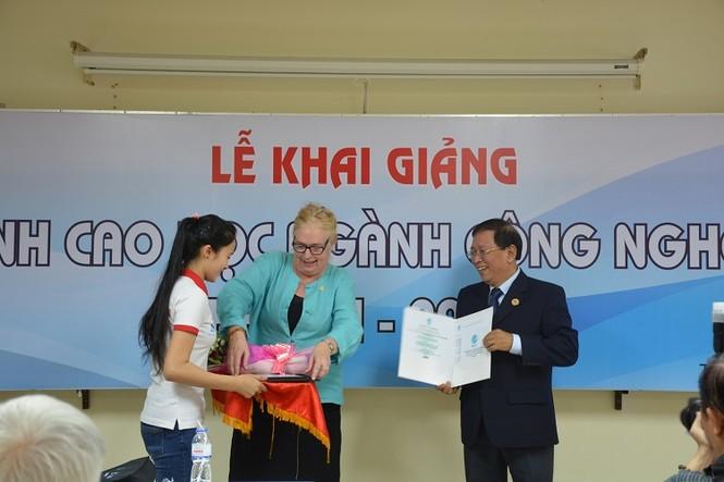 Trường ĐH Công Nghệ Sài Gòn khai giảng khóa Thạc sĩ Công nghệ  - ảnh 1