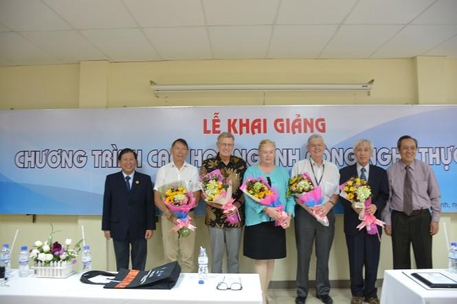 Trường ĐH Công Nghệ Sài Gòn khai giảng khóa Thạc sĩ Công nghệ  - ảnh 2