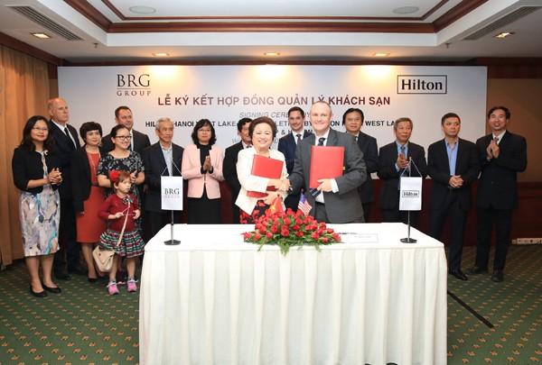 Công ty Cổ phần Khách sạn Thắng Lợi ký kết hợp tác với Hilton Worldwide - ảnh 1