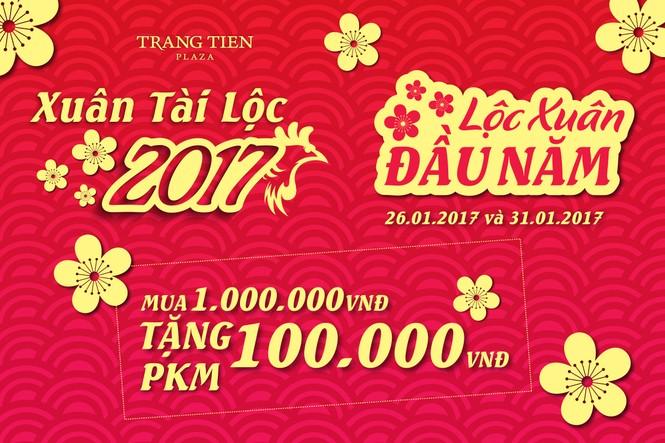 Xuân Tài Lộc 2017 cùng Tràng Tiền Plaza - ảnh 2