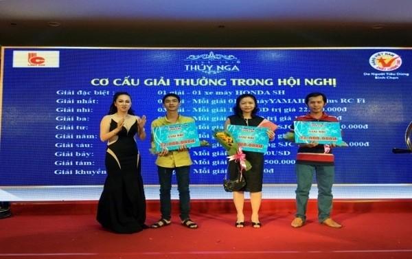Mỹ phẩm Linh Chi - Thúy Nga tổ chức hội nghị tri ân khách hàng  - ảnh 2