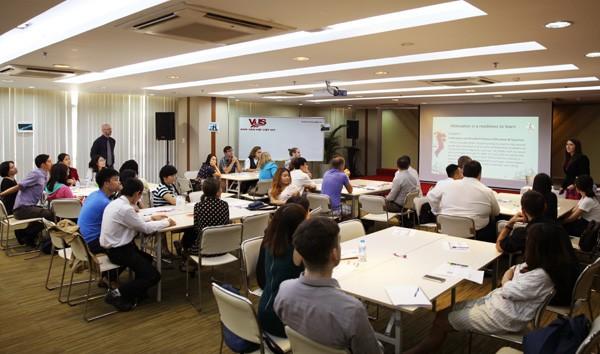 Vus và Cuny tổ chức hội thảo chuyên môn cho giáo viên  - ảnh 1