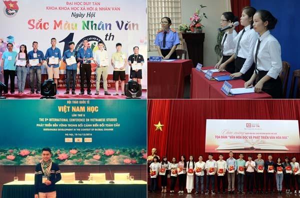 ĐH Duy Tân tuyển sinh khối ngành KHXH & Nhân văn và Ngoại ngữ năm 2017 - ảnh 1