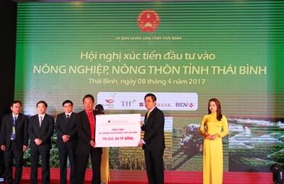 Agribank cùng ngành ngân hàng đẩy mạnh đầu tư phát triển nông nghiệp, nông thôn Thái Bình - ảnh 1