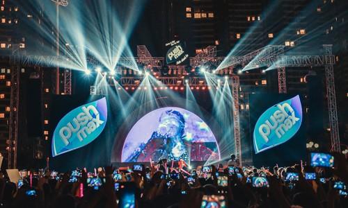 15.000 Teen Hà Thành 'quẩy tung' tại đêm nhạc Pushmax  - ảnh 1