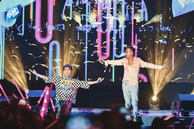 15.000 Teen Hà Thành 'quẩy tung' tại đêm nhạc Pushmax  - ảnh 2