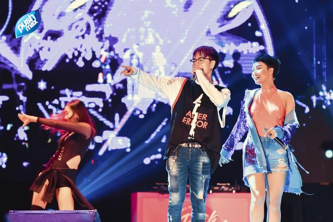 15.000 Teen Hà Thành 'quẩy tung' tại đêm nhạc Pushmax  - ảnh 5