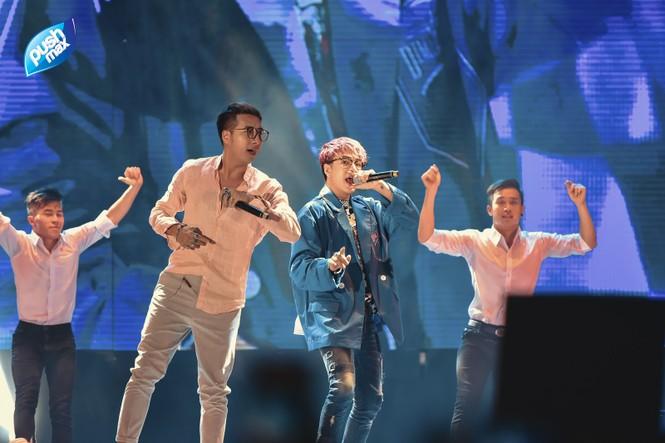 15.000 Teen Hà Thành 'quẩy tung' tại đêm nhạc Pushmax  - ảnh 6