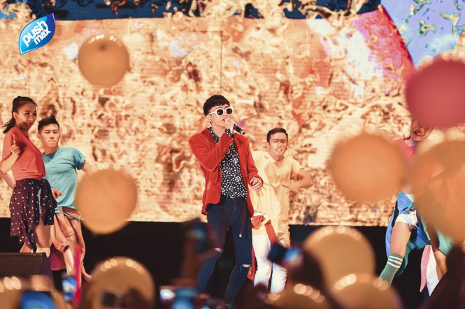 15.000 Teen Hà Thành 'quẩy tung' tại đêm nhạc Pushmax  - ảnh 7