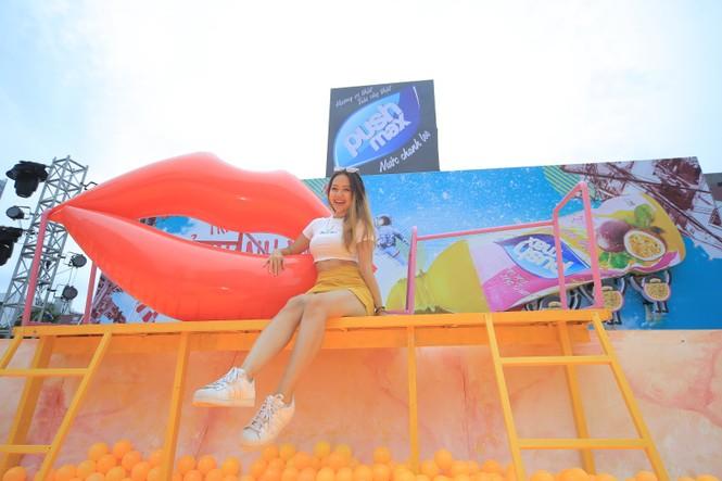 15.000 Teen Hà Thành 'quẩy tung' tại đêm nhạc Pushmax  - ảnh 10